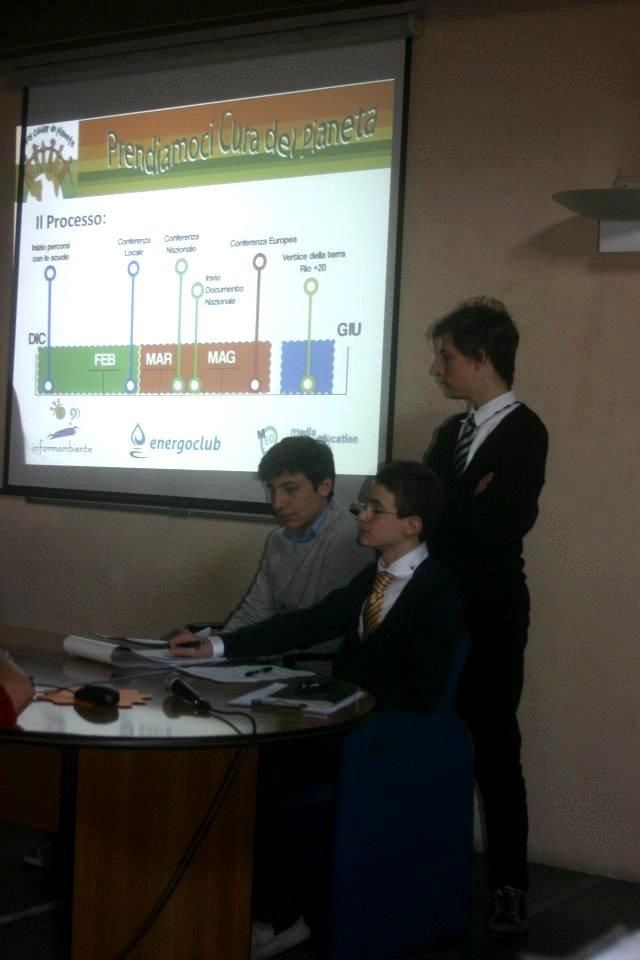 Conferenza locale Padova: Green mi piace!